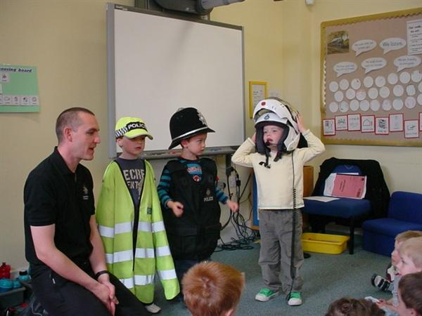 We learnt about the jobs the police do