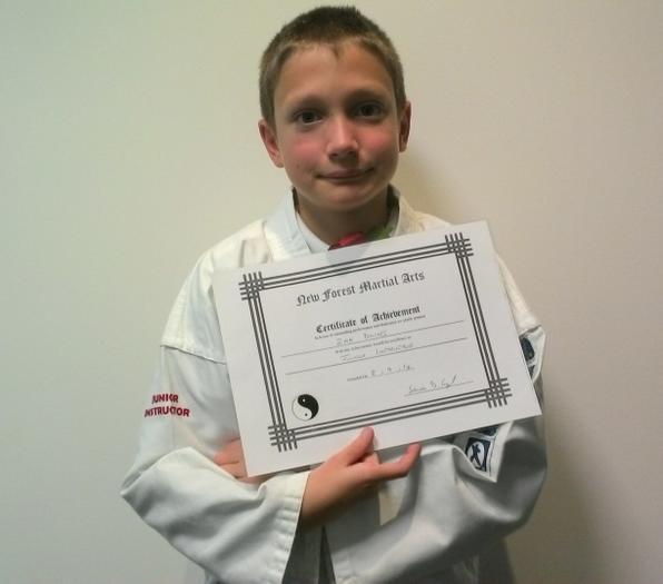 Zak (6SM) - Karate Junior Instructor