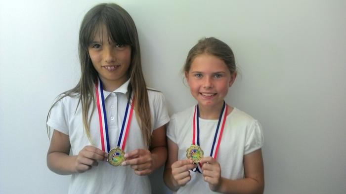 Courtney+Niamh - Team dance winners (Fleming Park)