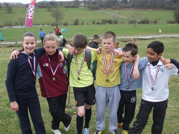 Our medal winners!