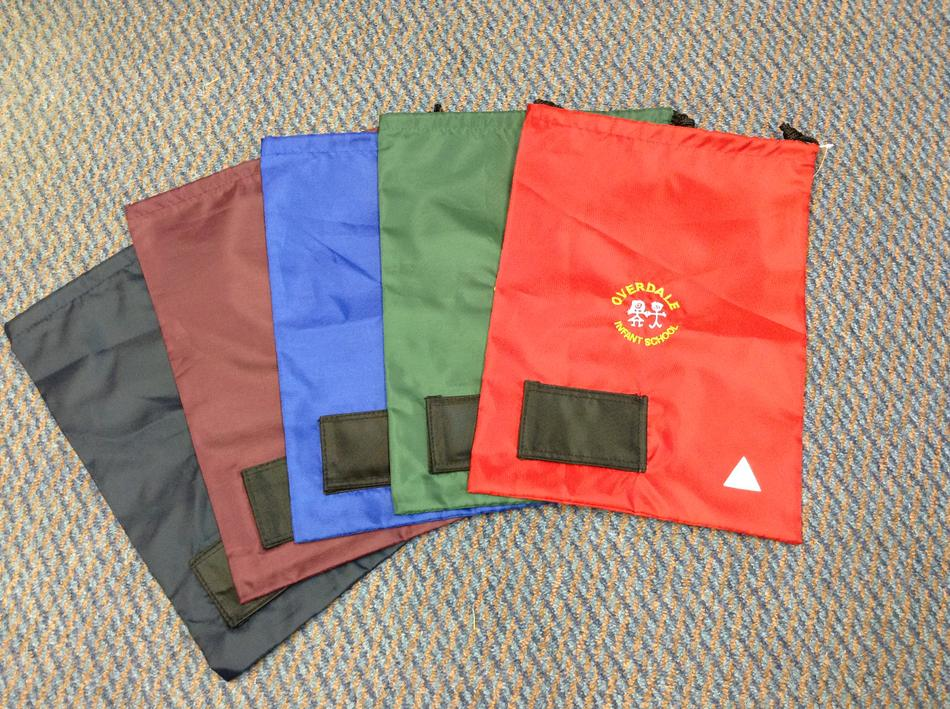 PE Bags - Various colours