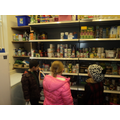 This is the store cupboard.