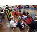 Fancy dress day - spot the book characters!