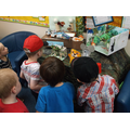 The children visit the primary school.