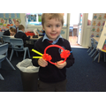 A spiky pufferfish!