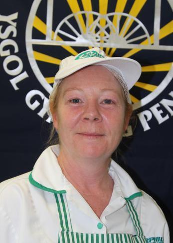 Mrs J Moody - Cynorthwy-ydd Arlwyo/Catering Asst