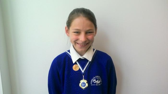 Katelyn - Athletics medal