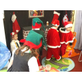 Busy elves in the workshop