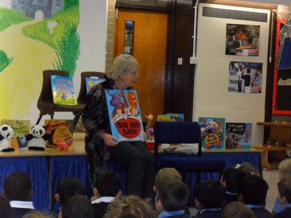 Julia Jarman author visit