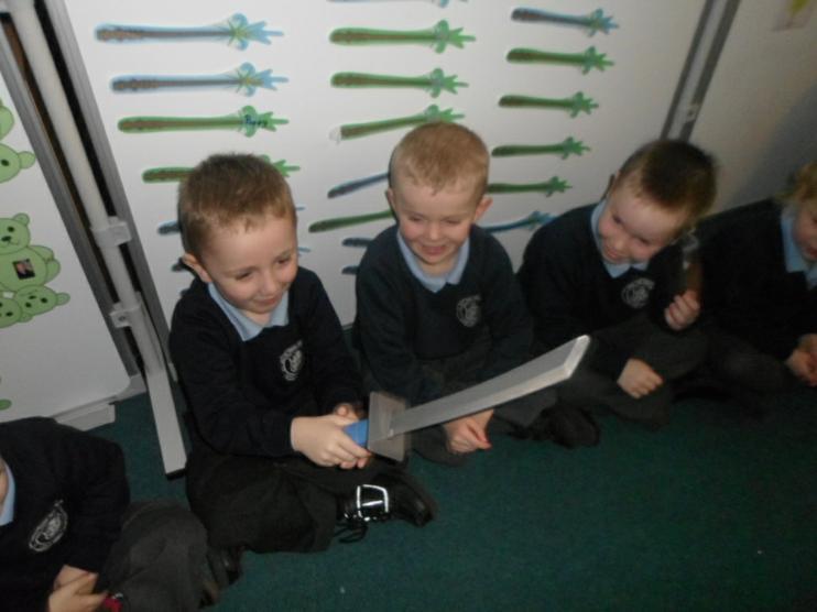 It is a Ninja turtle sword