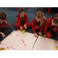 Mapping a journey around Struay - with the beebot