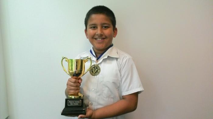 Ajay-Taekwando best student award+test match medal