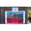 Y1 Collaborative Collage on Poppy Day
