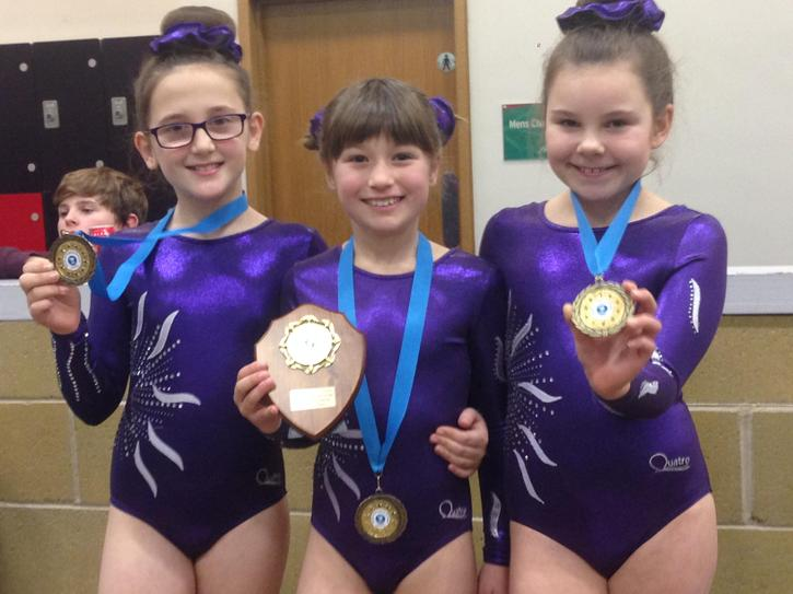 Congratulations to our talented trampoline team!
