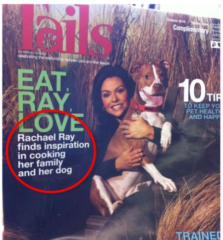 The dog looks worried!