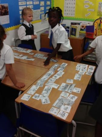 We chose the criteria for sorting our pictures.