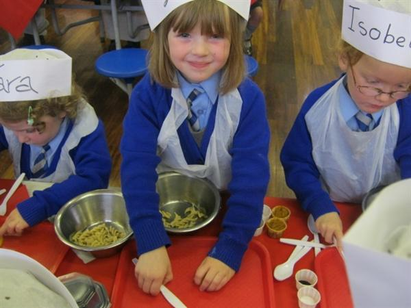 We had lots of fun when Chef's Academy came in.