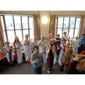 Singing Roman songs