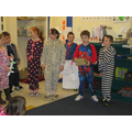 Class 3 came an acted out Jack and the Beans-talk