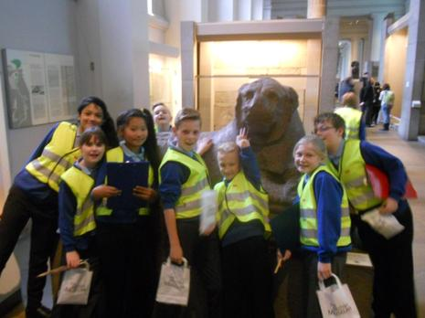 Year 6 - British Museum London - January 2015 4