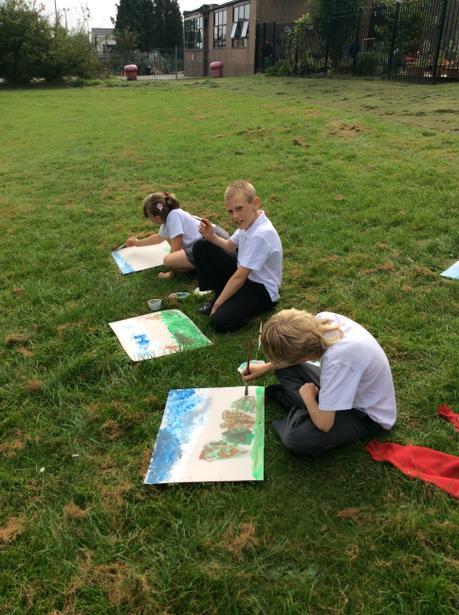 Painting outside like Monet