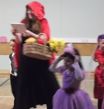 Red Riding Hood came to the Ball.