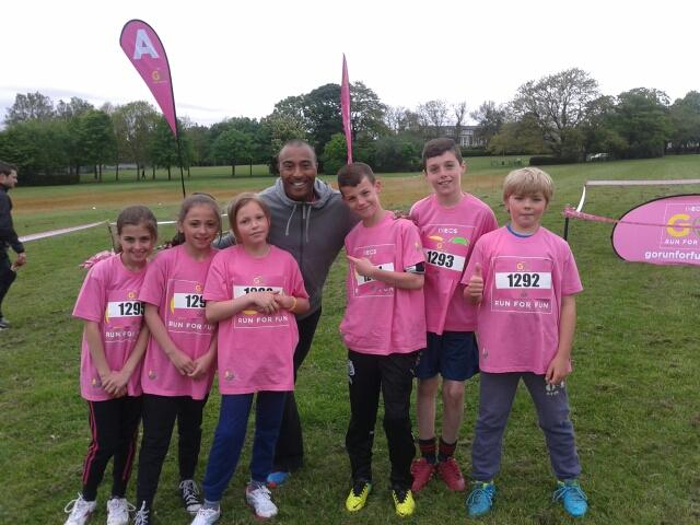 Colin Jackson and our children