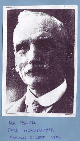 First Headteacher - Mr Powell