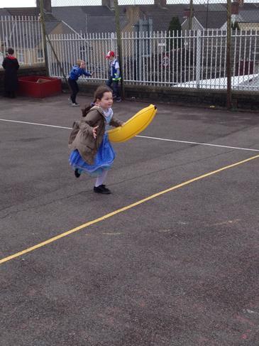 Da iawn Ella! Well done Ella!