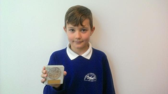 Ethan (4MG) - Swimming award! WINNER!