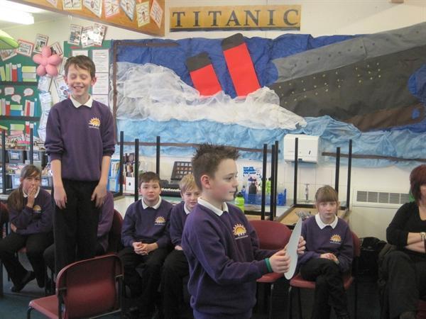 Titanic Enquiry Stimulus - Rydal Water Y5&6