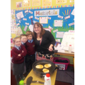We really enjoyed making pancakes!