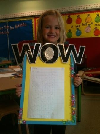 Our first WOW work!