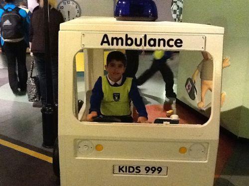 Tanveer became an ambulance driver