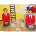 Children build The Houses of Parliament