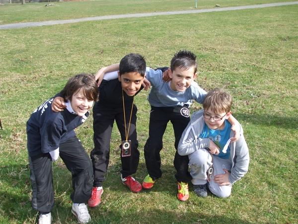 The year 5 boys team.