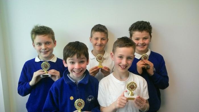 Boys Under 11 Indoor Football - WINNERS!