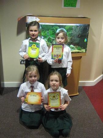 February Prize Winners!!