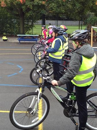 """Safe cycling"" lessons"