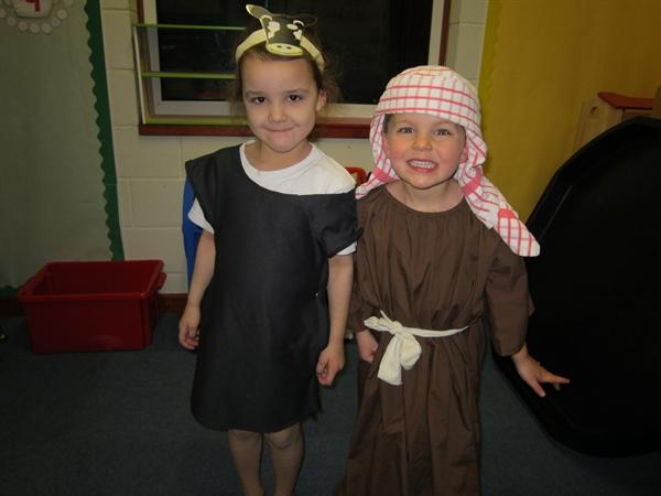 A Stable Cow and Joseph