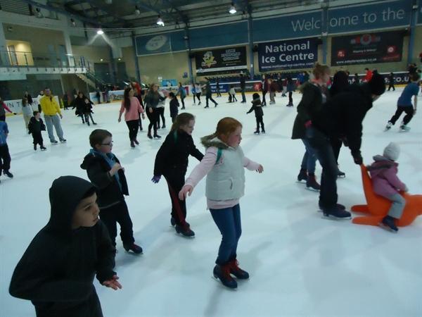 Iona enjoying skating