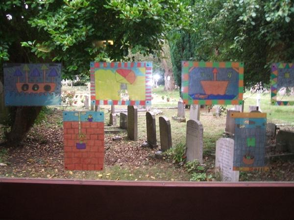 Year 5 Stained Glass Windows- St Paul's life