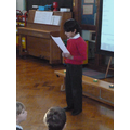 A reading by Soham.
