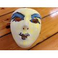 A Greek mask