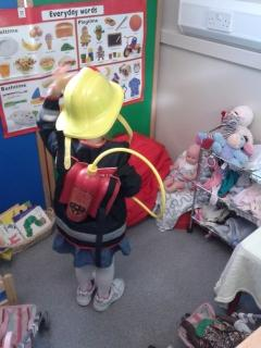 Our role play areas change regularly