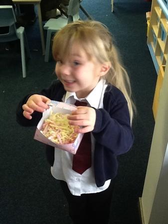 We loved making Easter baskets!