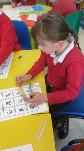 Learning Chinese symbols and their meaning