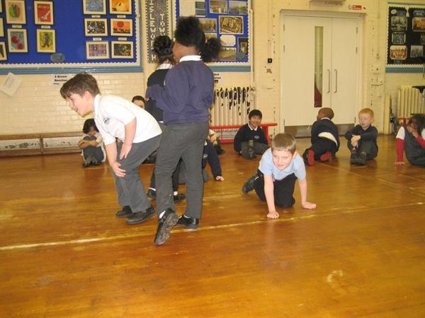 Acting out Anansi the Spider