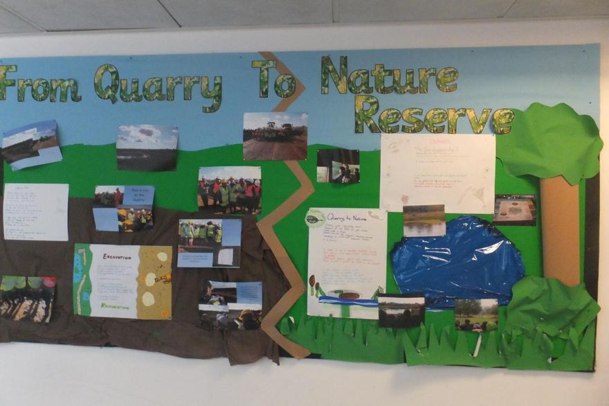 Eco principles embedded into Y6 curriculum