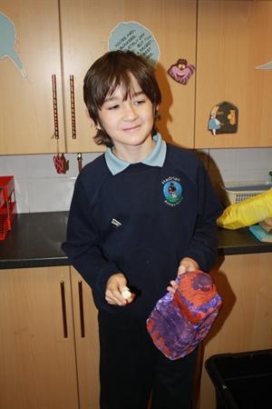Gardening, cooking and eating leek pie.